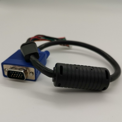 VGA to ZH1.5mm data cable assebly